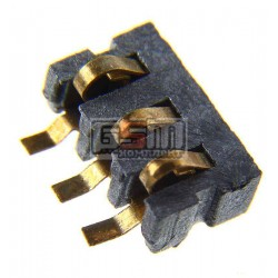 Коннектор батареи для Samsung D500, E700, E800