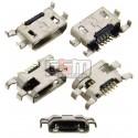 Коннектор зарядки для Sony C2304 S39h Xperia C, C2305 S39h Xperia C, 5 pin, micro-USB тип-B
