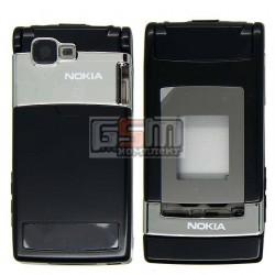 Корпус для Nokia N76, черный, high-copy
