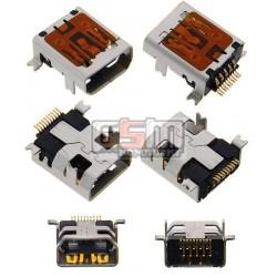 Коннектор зарядки для Fly DS103, DS103D, DS105C, DS105D, DS105D+, DS107, DS113, DS113+, DS120, E130, E145, TS105, TS90, оригинал, #H-2103-01015T-P01/EI03-UAF041-001/3.H-2103-01015T-P01