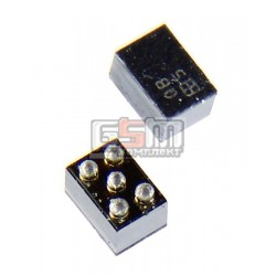 Мікросхема-стабілізатор живлення LM3671TLX/4346319 5pin для Nokia 3110, 5300, 5500, 6151, 6300, 7373, 7390, 7500, N73, N76, N92