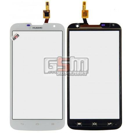 Тачскрин для Huawei Ascend G730-U10, белый, #HMCF-055-1140-Y4