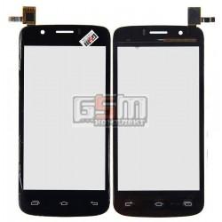 Тачскрин для Prestigio MultiPhone 5504 Duo, черный, #TF0664A-03 B06405011A