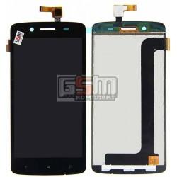 Дисплей для Prestigio MultiPhone 5507 Duo, черный, с сенсорным экраном (дисплейный модуль), #TL050JVXP02/TF0635A-09 A02805001A