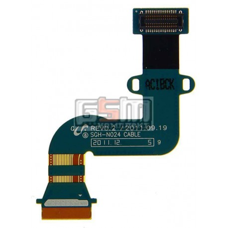 Шлейф для Samsung P3100 Galaxy Tab2, P3110 Galaxy Tab2, дисплея, с компонентами