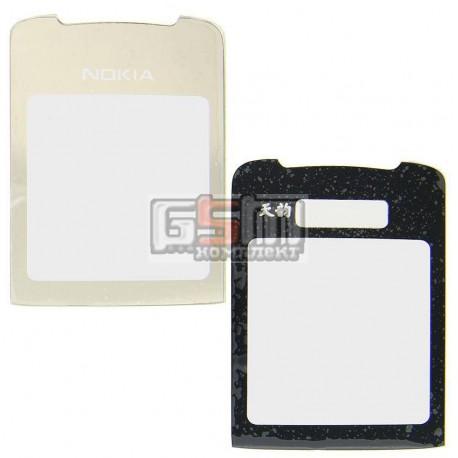 Стекло корпуса для Nokia 8800 Sirocco, золотистое