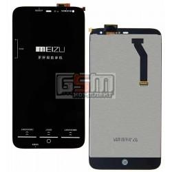 Дисплей для Meizu MX3, черный, с сенсорным экраном (дисплейный модуль)