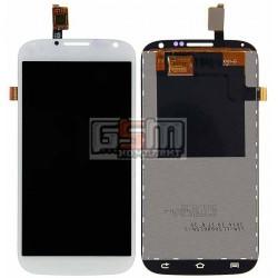 Дисплей для Qumo Quest 503; LOVME X50 3G; Ergo SmartTab 3G 5.0, белый, с сенсорным экраном (дисплейный модуль), #FPC-XL50QH007N-