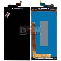 Дисплей для Lenovo P70, черный, с сенсорным экраном (дисплейный модуль)