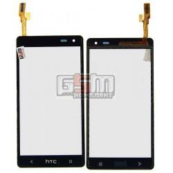 Тачскрин для HTC Desire 600 Dual sim, Desire 606w, черный