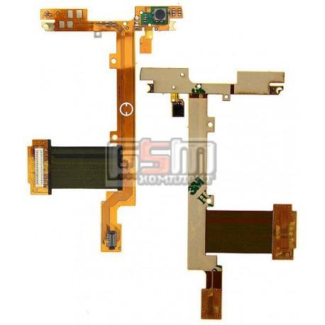 Шлейф для Nokia N900, копия, межплатный, с компонентами
