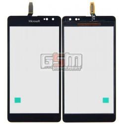 Тачскрин для Microsoft (Nokia) 535 Lumia Dual SIM, черный, #CT2S1973FPC-A1-E