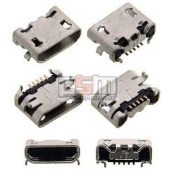 Коннектор зарядки для Fly IQ4405, IQ4413 Quad, оригинал, #G4315010062LA
