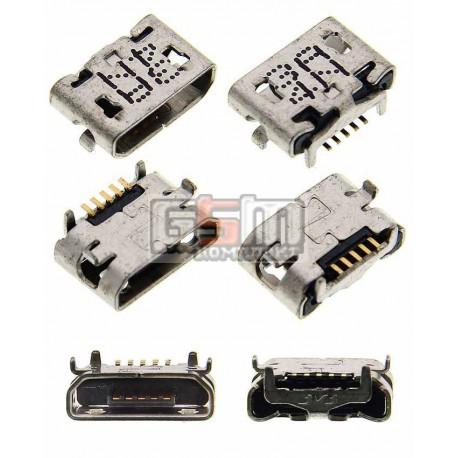 Коннектор зарядки для Sony D2004 Xperia E1, D2005 Xperia E1, D2104 Xperia E1 DS, D2105 Xperia E1 DS, D2114 Xperia E1 TV, E2104 X