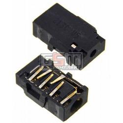 Коннектор handsfree для Nokia 200 Asha, 201 Asha, C2-02, C2-03, C2-06, C3-00, C5-00, E5-00, X1-01, X2-02, X3-02