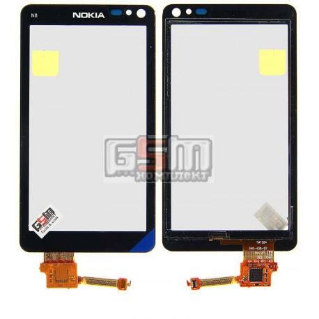 Тачскрин для Nokia N8-00, черный