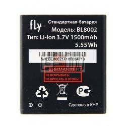 АккумуляторBL8002дляFlyIQ4490i,оригинал,(Li-ion3.7V1500mAh),(60.01.0518/X4038F0025)