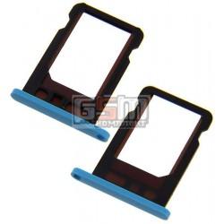 Держатель SIM-карты для Apple iPhone 5C, голубой