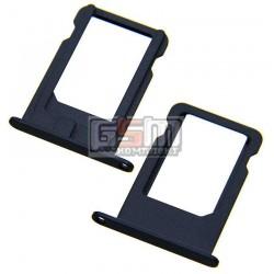 Держатель SIM-карты для Apple iPhone 5, черный