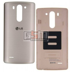 Задняя крышка батареи для LG G3s D722, G3s D724, золотистая