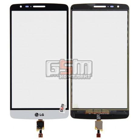 Тачскрин для LG D690 G3 Stylus, D693 G3 Stylus, белый