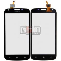 Тачскрин для Huawei Ascend Y600-U20 Dual Sim, черный