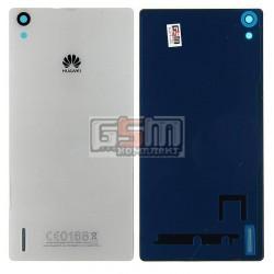 Задняя панель корпуса для Huawei Ascend P7, белая