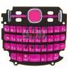 Клавиатура для Nokia 200 Asha, розовая, русская