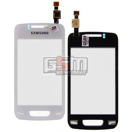 Тачскрин для Samsung S5380 Wave Y, белый