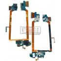 Шлейф для LG G2 D802, G2 D805, коннектора зарядки, коннектора наушников, микрофона, с компонентами, used, tested