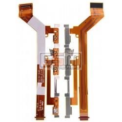 Шлейф для Sony D2302 Xperia M2 Dual, D2303 Xperia M2, D2305 Xperia M2, D2306 Xperia M2, кнопки включения, боковых клавиш, с комп