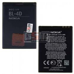Аккумулятор BL-4D для Nokia E5, E7-00, N8-00, N97 Mini, (Li-ion 3.6V 1200mAh)