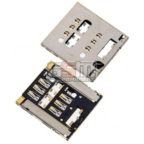 Коннектор SIM-карты для Sony LT28h Xperia Ion