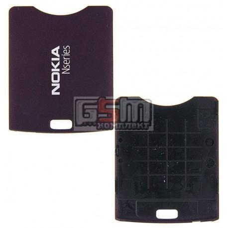 Задняя крышка батареи для Nokia N95 2Gb, фиолетовая