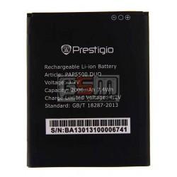 Аккумулятор для Prestigio MultiPhone 5500 Duo, оригинал, (Li-ion 3.7V 2000mAh)