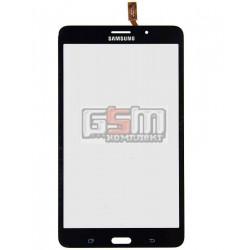 Тачскрин для планшета Samsung T230 Galaxy Tab 4 7.0, T231 Galaxy Tab 4 7.0 3G , T235 Galaxy Tab 4 7.0 LTE, черный, (версия 3G)