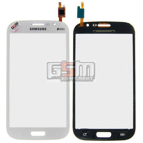 Тачскрин для Samsung I9060 Galaxy Grand Neo, белый