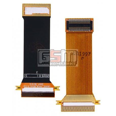 Шлейф для Samsung J600, J600E, межплатный, с компонентами