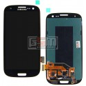 Дисплей для Samsung I747 Galaxy S3, I9300 Galaxy S3, I9305 Galaxy S3, R530, черный, с сенсорным экраном (дисплейный модуль)