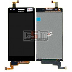 Дисплей для Huawei Ascend G6-U10, черный, с сенсорным экраном (дисплейный модуль)