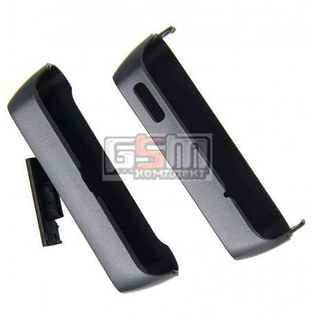 Верхняя + нижняя панель корпуса для Nokia N8-00, серая