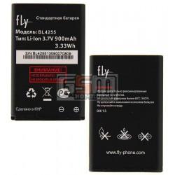 Аккумулятор BL4255 для Fly DS106, original, (Li-ion 3.7V 900mAh), #P104-516000-211/P104-516000-201