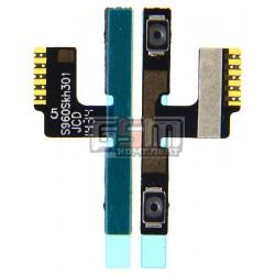 Шлейф для Lenovo S960 Vibe X, кнопок звука, с компонентами