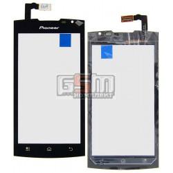 Тачскрин для Pioneer P80W; Prestigio MultiPhone 4500 Duo, черный, #LCGZ045379-A1