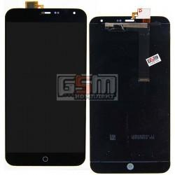 """Дисплей для Meizu MX4 5.3"""", черный, с сенсорным экраном (дисплейный модуль)"""