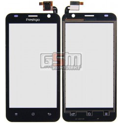 Тачскрин для Prestigio MultiPhone 3450 Duo, черный, #QT052354506 WTP-C14.5BA-F