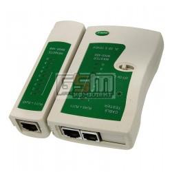Тестер сетевого кабеля (витая пара) Wynns WNS-468 RJ-11, RJ-45