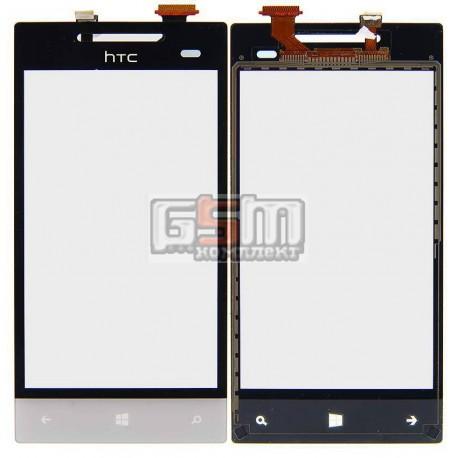 Тачскрин для HTC A620e Windows Phone 8S, белый