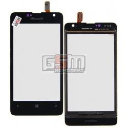 Тачскрин для Microsoft (Nokia) 430 Lumia, черный