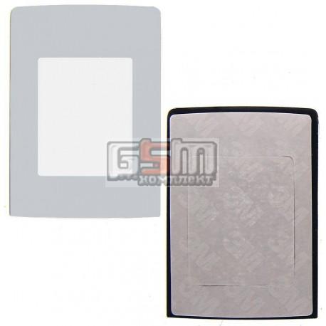 Стекло корпуса для Nokia N76, серый, внешнее